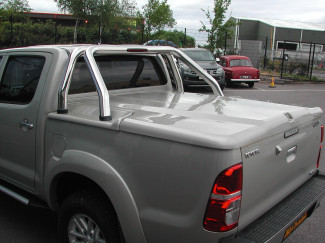 Toyota Hilux 2005-2016 Proform 3 Piece Sportslid Hard Lift Up Cover Unpainted Includes Sport Bar