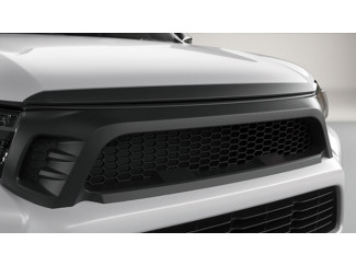 Hilux Accessories - 2016 Onwards Upper Front Grille Mesh - Matt Black
