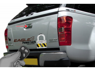 Isuzu D-Max 2012 on Tailgate Power Lock – Central Locking kit for your tailgate