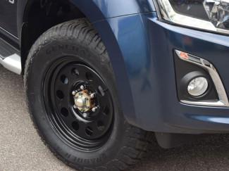Isuzu D-Max 17 Inch Black Modular Steel Wheels