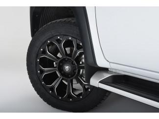 Mitsubishi L200 Series 6 2019 On - 20X9 Coyote Predator Alloy Wheel - Satin Black