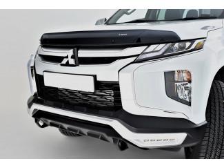Mitsubishi L200 Series 6 2019 On Front Bumper - Matt Black