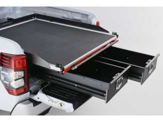 Pro//Top Drawer System Roller Drawers With Roller Floor