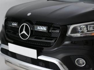Mercedes-Benz X-Class 2017 On Lazer Lights LED Triple-R750 Integration Kit