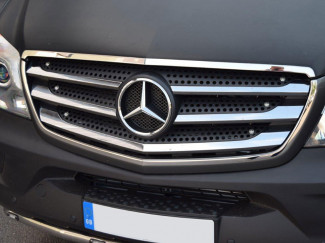 Mercedes Sprinter 2014 On Facelift Stainless Steel Front Grille Surround