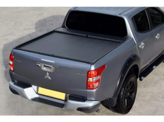 Mitsubishi L200 Series 5 2015 On Roll N Lock Retractable Tonneau Cover LG614M