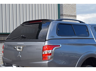 Mitsubishi L200 Double Cab 2015 Onwards Carryboy Windowed Leisure Hard Top Canopy With Central Locking