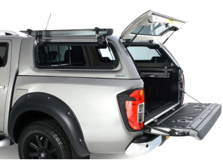 Nissan Navara NP300 Double Cab Aeroklas Hard Top Canopy Lift Up Windows