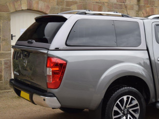 Nissan Navara NP300 Double Cab 2015 Onwards Alpha GSR Hard Trucktop Canopy In Primer Finish