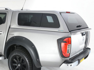Nissan Navara NP300 Double Cab Aeroklas Hard Top Canopy Windowed