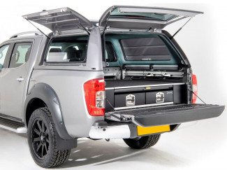 Nissan Navara NP300 Double Cab Alpha CMX Hard Top Canopy - Colour Matched