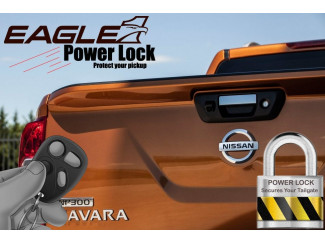 Nissan Navara NP300 2015 on Tailgate Power Lock – Central Locking kit for your tailgate