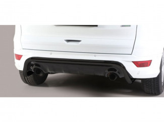 Ford Kuga 2017 Misutonida 50mm Rear Bar - Nylon Coated Black Finish