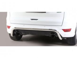 Ford Kuga 2017 Misutonida 50mm Rear Bar - Stainless Steel finish