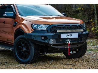 Ford Ranger 2016 Front Bar - Winch Recovery Bumper – Predator