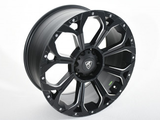 Mitsubishi L200 Series 5 2015-2019 - 20X9 Coyote Predator Alloy Wheel - Satin Black
