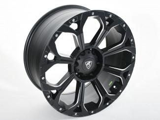 Toyota Hilux 2010-2015 - 20X9 Coyote Predator Alloy Wheel - Satin Black
