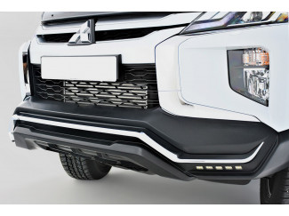 Mitsubishi L200 Series 6 2019 On Predator Front Bumper with Daylight Running Lights