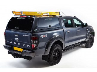 Ford Ranger 2012 Onwards Pro//Top Canopy Low Gullwing Side Doors in Various Colours With Glass Rear Door