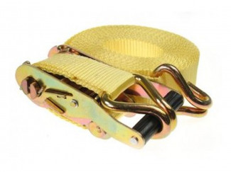 M606 Rachet Strap Heavy Duty 4.5M X 38MM Yellow