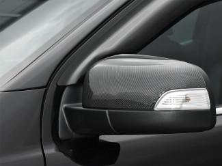 New Ford Ranger Raptor 2019 Onwards Carbon Black Mirror Covers