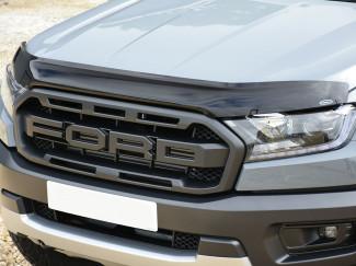 New Ford Ranger Raptor 2019 On Dark Smoke Bonnet Bug Shield
