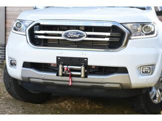 Ford Ranger 2019 Onwards Hidden Winch Mount - Front Bumper