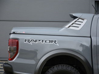 New Ford Ranger Raptor 2019 On Alpha SCZ Sports Tonneau Cover In Primer