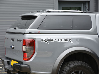 New Ford Ranger Raptor 2019 On Alpha Type-E Hard Top In Paintable Primer Finish