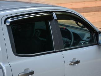 New Ford Ranger Raptor Trux Quad Window Door Visors