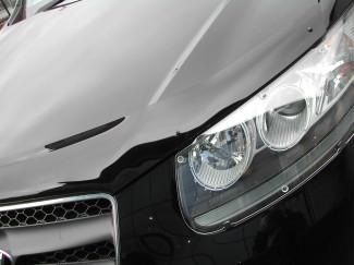 Hyundai Santa Fe 2006-2011 Dark Smoke Bonnet Guard