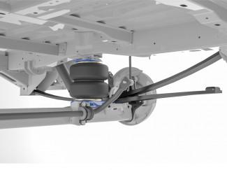 Semi Air Comfort Suspension Installed