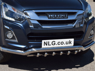 ISUZU D-MAX 17 Onwards Steel A-Bar By Steeler