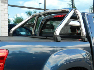 Stainless single hoop sports roll bar for Isuzu D-Max