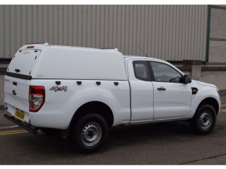 New Ford Ranger Super Cab 2019 On Pro//Top Tradesman Canopy Mid Roof Blank Sided
