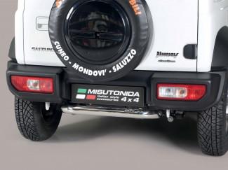 Suzuki Jimny 2018 Onwards Stainless Steel Rear Protection Bar 50mm