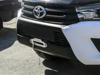 Toyota Hilux 2016 Onwards Hidden Winch Mount - Front Bumper