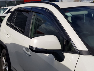 Toyota RAV4 2019 On Trux Adhesive Fit Wind Deflectors