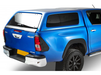Hilux 2016 Onwards Double Cab Aeroklas Hard Top With Pop Out Windows