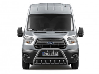 Ford Transit MK8 2014 On Stainless Steel A Bar With Axle Bar
