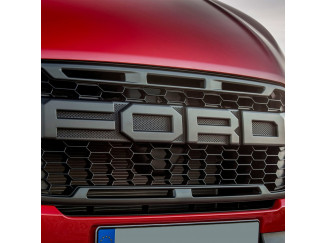Ford Ranger Mesh Grille With Thunder Red Inserts