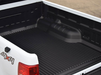 Ford Ranger 2012 On Extra Cab Aeroklas Heavy Duty Load Bed Liner Under Rail