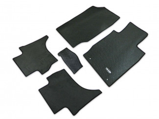 Mitsubishi L200 2015 Onwards Double Cab Tailored Mat Set (Base Model Only)