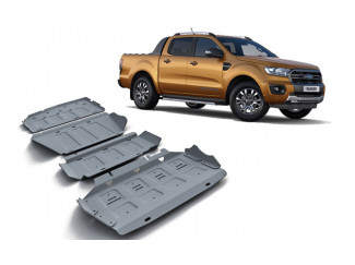 Ford Ranger 2019 on 4mm Underbody Protection Kit