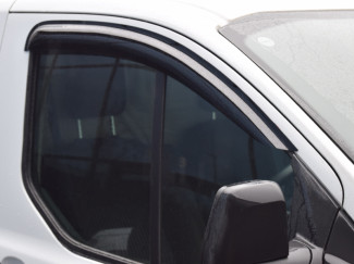 Ford Transit Custom 12 Onwards Front pair of wind deflector visors