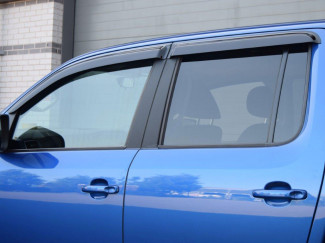 Amarok Quad Window Deflector Visors Set Of 4