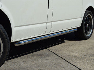 Stainless Steel Side Bars For The VW T5 SWB