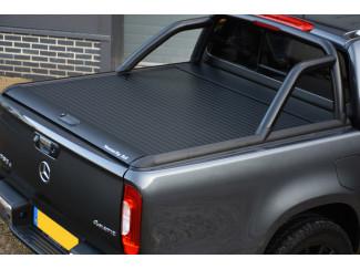 Mercedes X-Class Mountain Top Roll - Black Roller Shutter