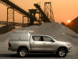 ProTop Canopy High Roof Variant Gullwing Side Access Doors Toyota Hilux