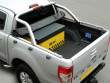 Ford Ranger sheet cover with roll bar